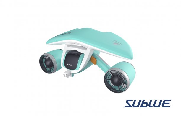 WHITESHARK MIX  Bleu Scooter sous-marin par Sublue